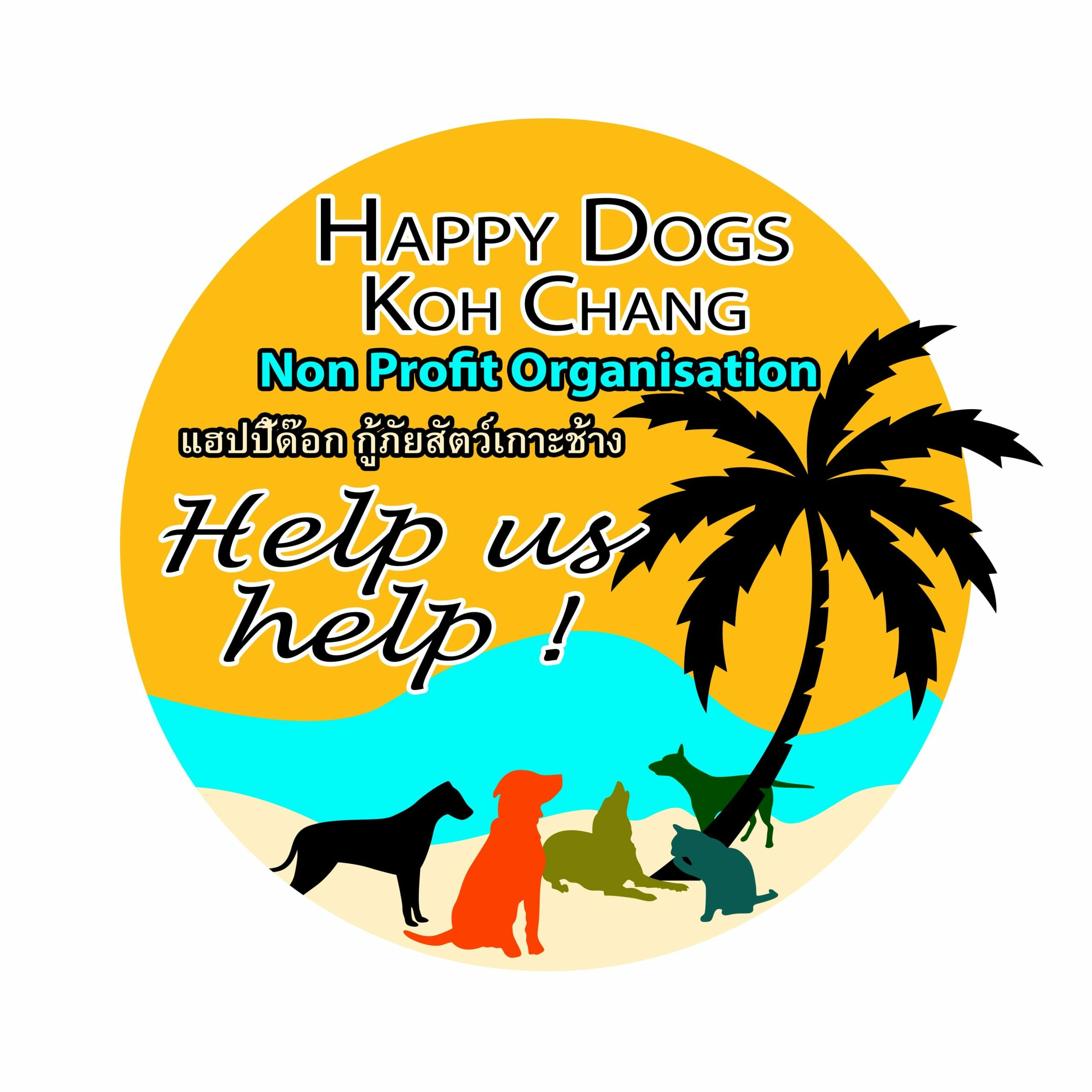 Happy Dogs Koh Chang- animal welfare and shelter care Thailand