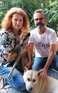 Cosma adopted Austra | Happy Dogs Koh Chang- animal welfare and shelter care Thailand